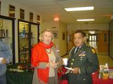 Renate Vanegas and Col. Matthews